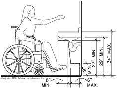 Ada Bathroom Counter Depth by Accessible Bathroom Plans Ada Bathroom Floor Plans Shower
