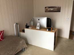 schlafzimmer mit arbeitsplatz kleiner aufwand grosse