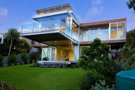 Second Floor House Design by Relaxing House With Big Balcony On Second Floor Home