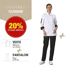 tenue cuisine femme tenue de cuisine femme label blouse