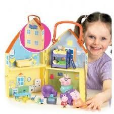 la maison de peppa pig avec figurines fr jeux et jouets