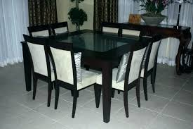 Dining Table 8 Oak 10 Chairs Gumtree Square Tables Seating Fresh Room Winning Delightful Round For