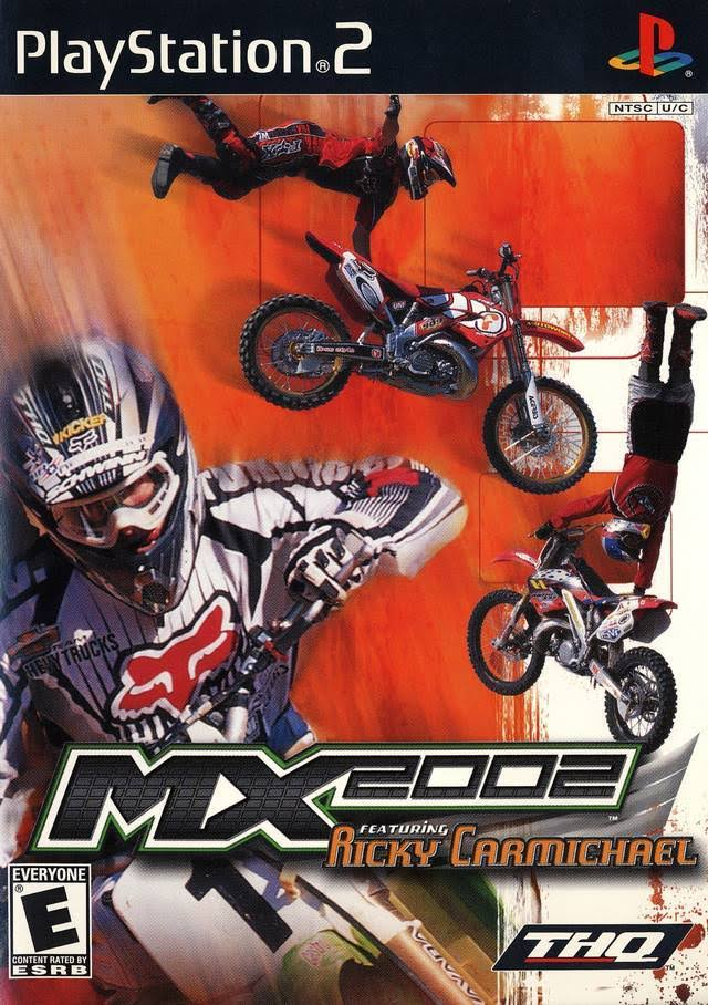 MX 2002 Featuring Ricky Carmichael - PlayStation 2