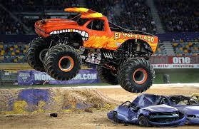 100 Monster Monster Truck Free Jam Displays Around El Paso