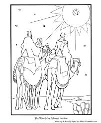 Christmas Story Coloring Pages 8