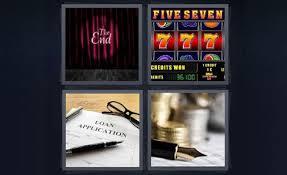 pics 1 word loan application the end jackpot slot machine five seven