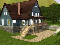 Sims 3 Ps3 Kitchen Ideas by Beautiful Sims 3 House Designs Home Pictures Interior Design