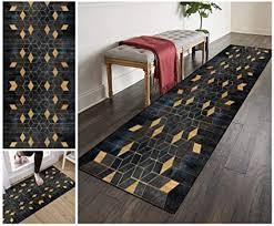 filjr teppich läufer flur küche rutschfest bunt lange waschbar 60 100cm geometrisch gemusterter teppich polyester verblassen nicht anpassbar