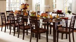 Home And Furniture Enthralling Dining Table Seats 10 On Great Yoadvice In Plan