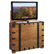 More Views Steamer TV Lift Cabinet