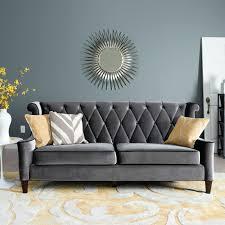 armen living barrister sofa caramel velvet armen living 844