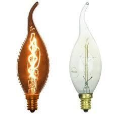 vintage style light bulb chandelier candelabra e12 25 watt