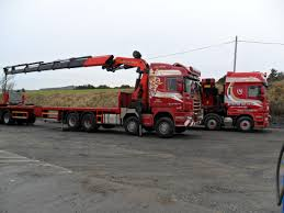Trucks Mounted Cranes - Heavy Haulage