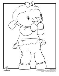 Lambie The Lamb Doc McStuffins Coloring Page