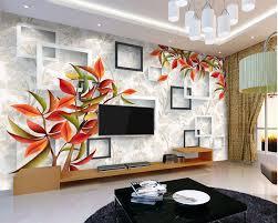 benutzerdefinierte 3d floral tapete schöne warme elegante rote wandbild für wohnzimmer schlafzimmer tv hintergrund wand wasserdichte tapete