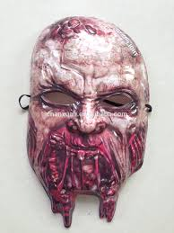 Purge Mask Halloween by Cracked Porcelain Doll Leather Mask Possibly The First Thing I