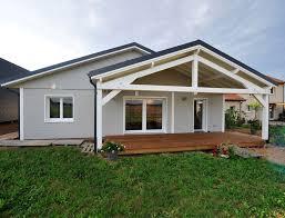 maison plain pied 2 chambres nos maisons ossatures bois maison 2 pans maison 1 pan maison