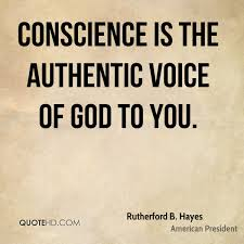Conscience Is The Authentic Voice Of God To You