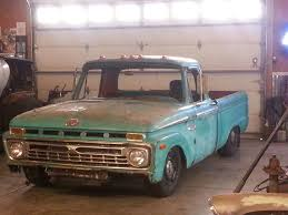 100 Boyer Ford Trucks Inc 1966 F100 With Full 2004 Crown Vic Chassis Body Swap 1966 F100