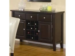Black Sideboard Dining Room Buffet Photo