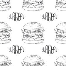 Hamburger Paragraph Template Printable Free Writing Graphic