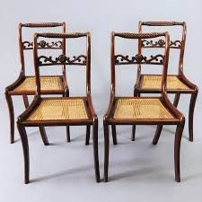 Set Of Four Regency Mahogany Rope-Back Dining Chairs With Cane Seats C1815 Chairrestoration Hashtag On Twitter Antique Rocking Chair Seat Replacement And Painted Finish Weave Seats With Paracord 8 Steps With Pictures Chair Thana Victorian Balloon Back Cane Antiques Atlas Hans Wegner Style Rope New 112 Dollhouse Miniature Fniture White Wooden Low Side Woven Seat Back Restoration Products Supplies Know Your Leg Styles Two Vintage Chairs Stock Image Image Of Objects 57683241