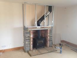 How To Put In A Gas Fireplace by Best 25 Wood Burning Stoves Ideas On Pinterest Tiny Wood Stove
