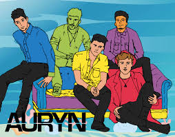 Colored Page Auryn Boyband Painted By User Not Registered