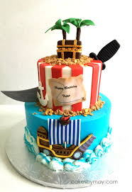 Pirate Birthday Cake CakeCentral
