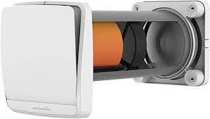 suedwind ambientika wireless dezentrale wohnraumlüftung mit wärmerückgewinnung 93 160 mm mit fernbedienung 60m h