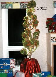 Saran Wrap Xmas Tree by Christmas Mary Sherwood Lifestyles