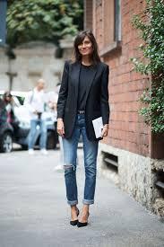 best 25 blazer jeans ideas on pinterest navy blazer