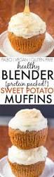 Vegan Pumpkin Muffins No Oil by Healthy Blender Sweet Potato Muffins