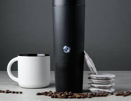 The Kit Includes A Rechargeable Battery Charger And 18 Pods In Your Choice Of High Quality Arabica Coffee Available Light Roast Medium
