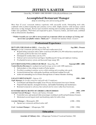 Download Now Resume Templates For Restaurant Managers Sample Of General Manager