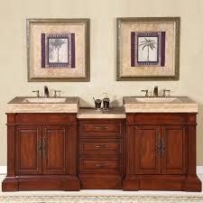 Walmart Bathroom Vanity With Sink by Silkroad Exclusive Stanton 83 U0027 U0027 Double Bathroom Vanity Set