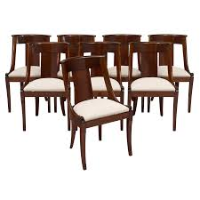 Empire Style Mahogany Gondola Dining Chairs - Set Of 8 Empire Ding Chair Duncan Phyfe Room Chairs 1 Style Ding Chair From Our Exclusive Empire Collection Pr Mid 19th C Gondola Chairs Signoret Amazoncom Inland Fniture Madalena 7 Pc Formal Outdoor Wicker Bistro Cork Empire Classic Fniture Side Espresso Set Of 2 A Set Eight Maison Jansen Giltbronze Mounted Mahogany 1949 45 Masterpiece Collection