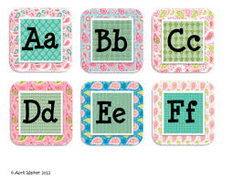 The Word Wall Cards For Dolch Sight Words And Letters Are At My TpT Store