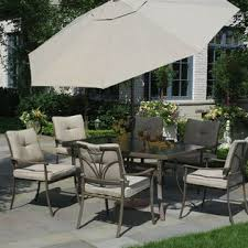 Garden Oasis 7 pc Patio Set Laguna Hills Collection Outdoor