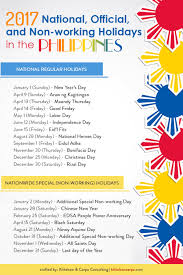 100 Ph Of 1 207 Ficial Nonworking Holidays In The Ilippines