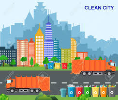 100 Waste Management Garbage Truck City Recycling Concept With Concept
