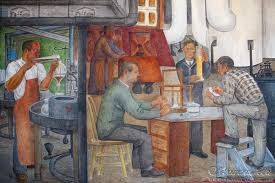 Coit Tower Mural City Life by Fall 2015 San Francisco Telegraph Hill Traveler Home