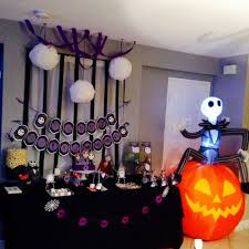 Nightmare Before Christmas Themed Room by Nightmare Before Christmas Halloween Party Ideas Photo 10 Of 16