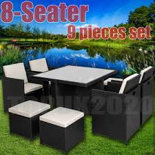 CUBE RATTAN GARDEN FURNITURE SET CHAIRS SOFA TABLE OUTDOOR PATIO 8 SEATER Maze Rattan Kingston Corner Sofa Ding Set With Rising Table 2 Seater Egg Chair Bistro In Brown Garden Fniture Outdoor Rattan Wicker Conservatory Outdoor Garden Fniture Patio Cube Table Chair Set 468 Seater Yakoe 8 Chairs With Rain Cover Black Round Chester Hammock 5 Pcs Cushioned Wicker Patio Lawn Cversation 10 Seat Cube Ding Set Modern Coffee And Tea Table Chairs Flower Rattan 6 Seat La Grey Ice Bucket Ratan 36 Jolly Plastic Philippines Small 4 Chocolate Cream Ideal
