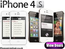 iPhone 4S Pay As You Go Deals – 16GB 32GB & 64GB iPhone 4S PAYG