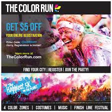 Coupon Code For Color Vibe 5k 2018 : Discount Coupon For ...