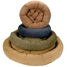 Xlarge Dog Beds by Snoozer Luxury Round Bolster Pet Bed