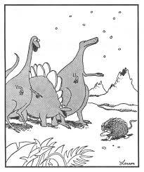 Far Side Dinosaurs Snow