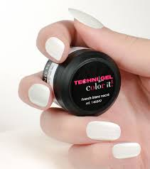 gel de couleur pour ongles uv led color it blanc