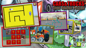 Get Kids Cars And Trucks Logic And Memory Puzzles - Teaches Children ...